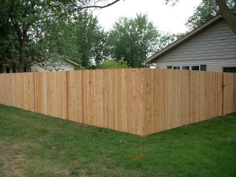 6ft dog ear fence